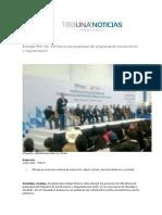 02-04-2016 Periódico Digital - Entrega RMV Mil 306 Títulos de Propiedad Del Programa de Escrituración y Regularización