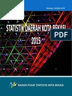 Data Statistik Daerah Kota Bekasi tahun 2015