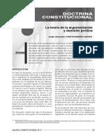 Jorge Alexander Portocarrero Quispe - La Teoría de La Argumentación y Desición Jurídica