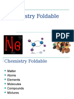 notes -  chemistry foldable