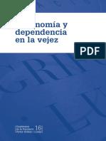 Autonomia en La Vejez