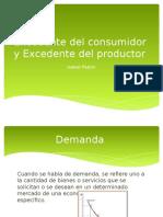 Excedente Del Consumidor y Del Productor