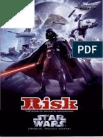 Original Trilogy Star Wars Risk Instruction Manual