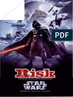 Original Trilogy Star Wars Risk Instruction Manual