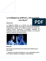 La Inteligencia Artificial