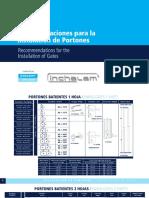 Manual de Instalacion Portones Batientes