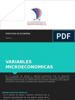 Variables Microeconmicas