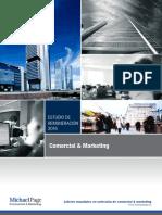Retribuciones Comercial y Marketing 2016