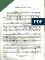 Muczynski - Sonata for Flute and Piano (Pn)
