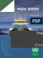 Código Internacional de seguridad para naves de gran velocidad - NGV