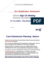 BID-QUALIFICATION - CHECKLIST- TO BE IMPLEMENTED BEFORE CALLING SIG-ON MEETING .ppt