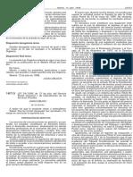 Ley Postal de 14 Julio de 1998.