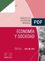ECONOMIA Y SOCIEDAD - N 38 - MARZO 2016 - PARAGUAY - PORTALGUARANI