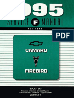 2000 Chevrolet Camaro & Pontiac Firebird Service Manual Volume 1