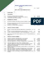Presupuesto Excel Instalaciones Electricas Partidas Freddy