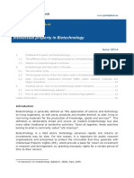 Fact Sheet IP in Biotechnology