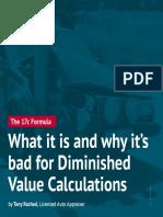 17c Formula Diminished Value