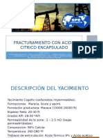 Fracturamiento Acido Con Acido Citrico Encapsulado