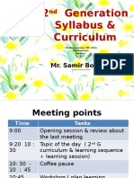 2 2G Meeting Curriculum & Learning Sequence