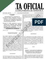 Gaceta Oficial Extraordinaria 6224