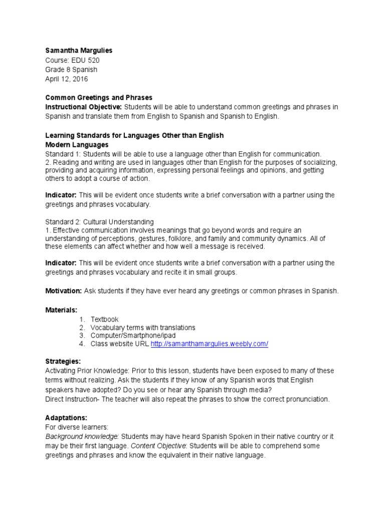 Edu 520 lesson 3 common greetings and phrases english language edu 520 lesson 3 common greetings and phrases english language vocabulary m4hsunfo