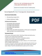 CIL 2016 Rules & Regulations_Final