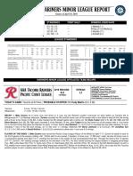 04.19.16 Mariners Minor League Report
