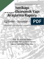 yenikapı sosyo-ekonomik araştırma raporu-2008