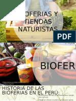 Bioferias y Tiendas Naturistas