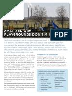 Coal Ash Drinking Factsheet