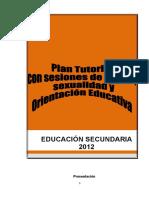 Educación Secundaria --- Plan Tutorial