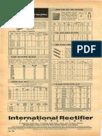! International Rectifier Selenium Rectifiers 1960 REM 24