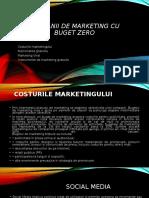 Campanii de Marketing Cu Buget Zero v 2