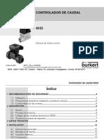 Caudalimetro Burkert Ma8032 Flowcontrol Es Es