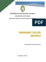 Plan Global Taller Seminario Moodle