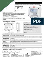 KIMO FT-CP111-112-113-SP