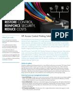 HP AccessControl Printing