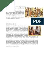 El Problema Del Ser en La Filosofía Griega Antigua Filosfia INED