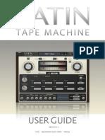 Satin User Guide