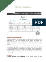Fonética y Fonología . Tema 3