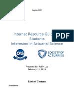 English 202C Internet Resource Guide Final Draft