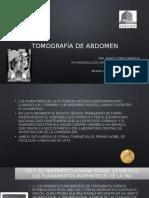 Historia de la Tomografía  y TC de Abdomen