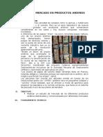 Estudio de Mercado en Productos Andinos