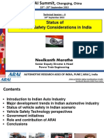 ARAI India NVM_Vehicle Safety in India_4th AAI Summit China