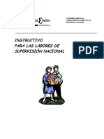 Instructivo de SUPERVISION