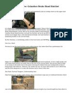 Survival Gear Review