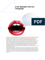 Una Docena de EjemploUna docena de ejemplos del uso sexista del lenguaje.docs Del Uso Sexista Del Lenguaje