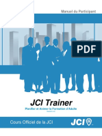 JCI Trainer Manual