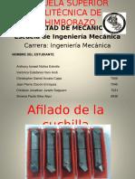 Diapositivas Afilado de Cuchilla y Corte Talleres II