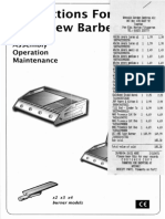 AUSTRALIAN BARBEQUE COMPANY GAS Barbeque manual